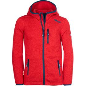 TROLLKIDS Jondalen XT Jacket Kids, spicy red/dolphin blue